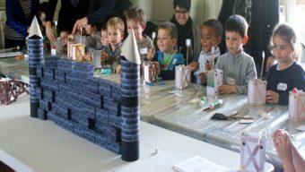 Activités enfants et famille au château d'Angers pendant les vacances de février