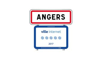 Territoires, villes et villages Internet 2017 : Angers reçoit un cinquième arobase
