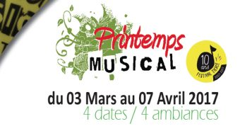 Printemps Musical de Tiercé du 3 mars au 4 avril