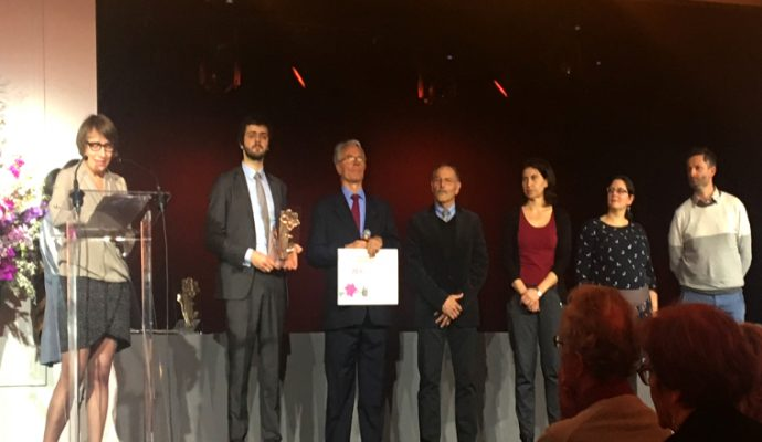 Prix Fleur d'Or : la Ville d'Angers primée