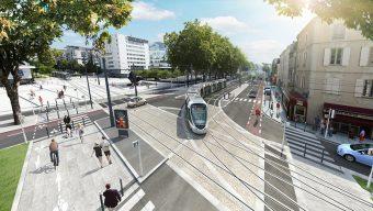 Lancement des travaux de la ligne B du tramway en 2018