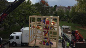 L'œuvre de Niki de Saint-Phalle revient à Angers