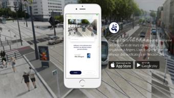 Lancement de l'application Angers info travaux