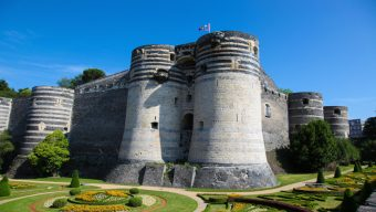 Vacances au château d'Angers