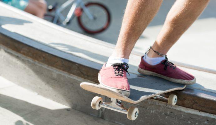 Un nouveau skate park à la Baumette