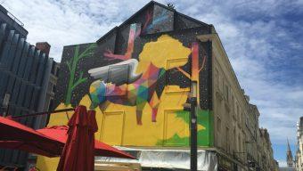 Échappées d'art habillent les murs de la ville