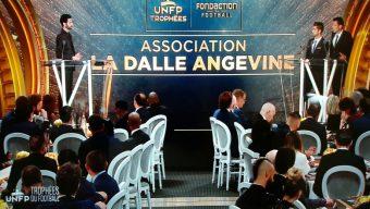 La «Dalle Angevine» récompensée aux trophées UNFP