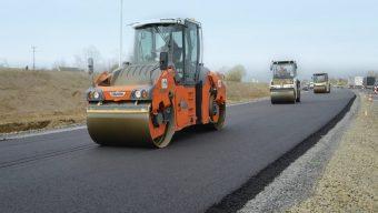 Travaux d'entretien sur trois giratoires de l'axe Angers-Saumur