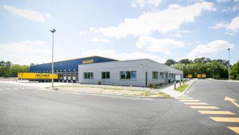 Dachser inaugure sa nouvelle plateforme à Angers-Marcé