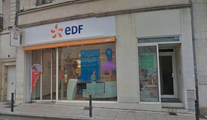 EDF ferme sa boutique du centre-ville