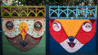 Échappées d'art : les street artistes investissent les Panneaux Artistiques Libres (PAL) en direct