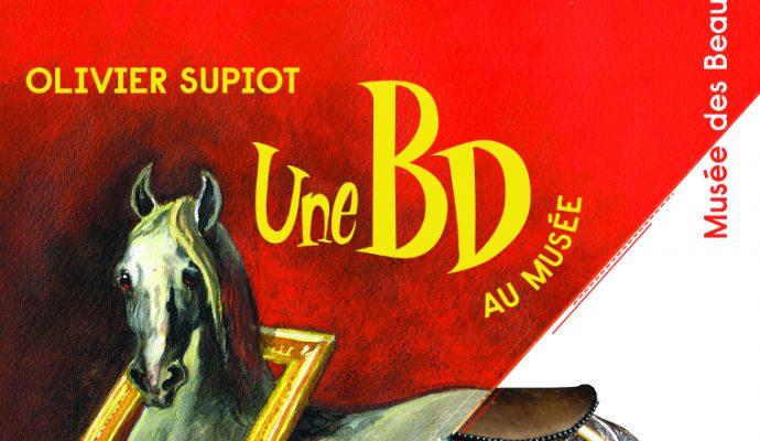 La BD s'invite au musée des Beaux-Arts avec Olivier Supiot