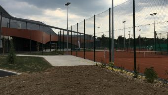 La halle de tennis de la Baumette a été livrée