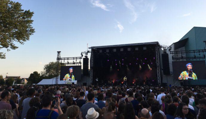 Coup d'envoi du festival Estival de Trélazé