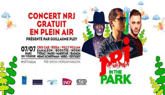 NRJ in the Park ce soir au festival Estival de Trélazé