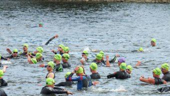 Le triathlon d'Angers les 22 et 23 juillet