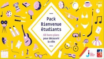 Un pack bienvenue avec 60 bons plans pour les étudiants