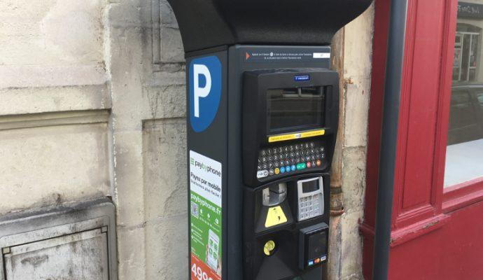 De nouveaux parcmètres installés à Angers