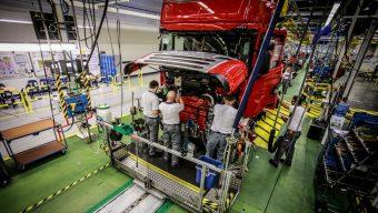 L'usine Scania d'Angers assemble la nouvelle génération de camions