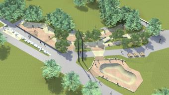 Un nouveau skatepark à Saint-Serge en 2019