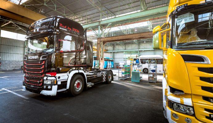 Scania construit un nouvel atelier à Angers