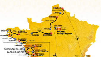 Le Tour de France passera par Cholet en 2018