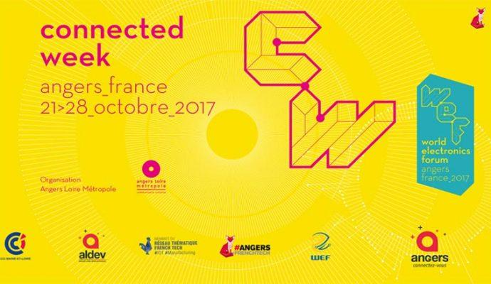 Le World Electronics Forum 2017 prend ses quartiers à Angers du 21 au 28 octobre