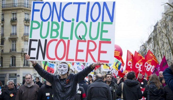 Plus de 3000 fonctionnaires ont manifesté dans les rues d'Angers