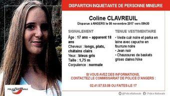 Disparition inquiétante d'une jeune fille de 17 ans à Angers
