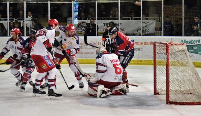 Hockey sur glace : les Ducs d'Angers s'imposent à Bordeaux