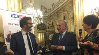La ville d'Angers reçoit le prix Territoria d'Or pour son stationnement