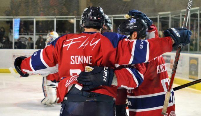 Hockey sur glace : Les Ducs dominent le leader Grenoble puis Epinal