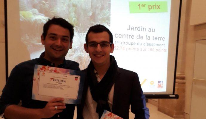 « Jardin au centre de la terre » remporte le concours Jardins d'expression