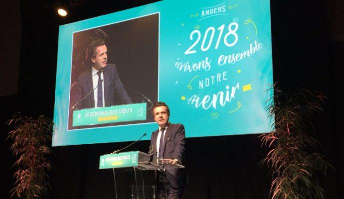 Les angevins au cœur de l'année 2018 annonce le maire lors de ses vœux