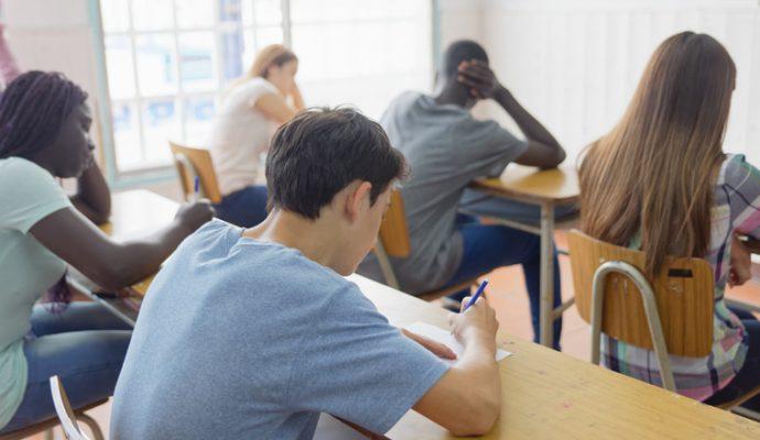 Un collège public à Beaupréau en 2023