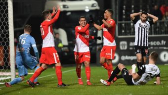 Football : Angers SCO chute lourdement contre Monaco