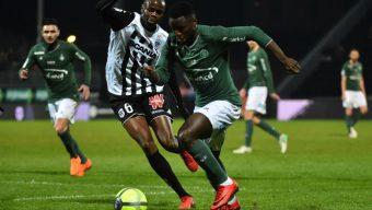 Football : Saint-Etienne s'impose à Angers