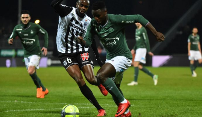 Football : Saint-Etienne s'impose à Angers