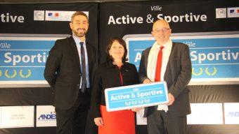 Angers, première ville de France distinguée par les 4 Lauriers du label « Ville Active et Sportive »