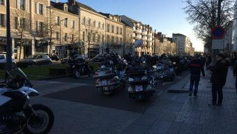 La manifestation des motards contre les 80 km/h ne mobilise plus