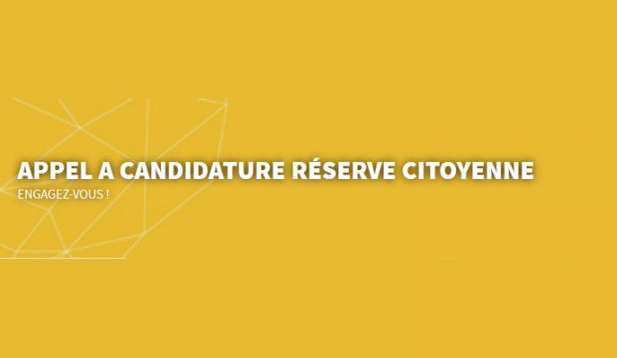 Ouverture des inscriptions pour la réserve citoyenne
