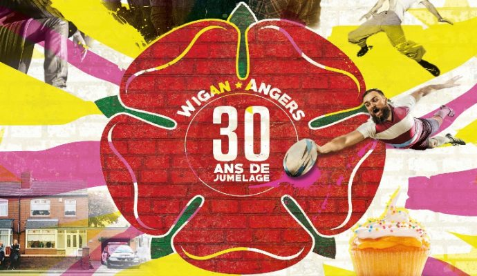 « Angers fête l'Europe » met Wigan à l'honneur du 3 au 31 mai