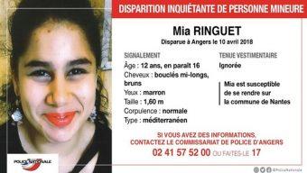 Appel à témoins après la disparition d'une jeune fille à Angers
