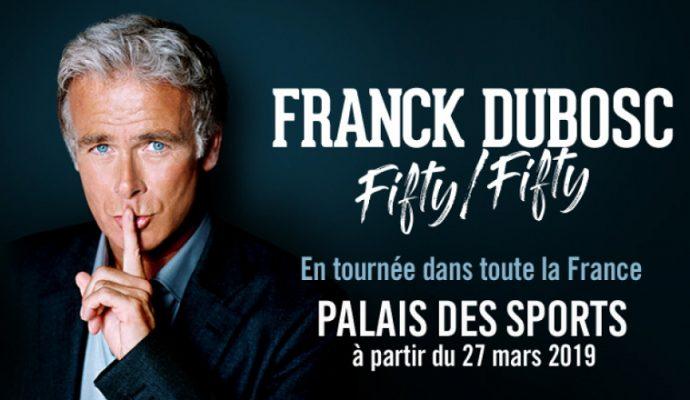 Franck Dubosc présentera son nouveau spectacle en mars 2019 à Angers