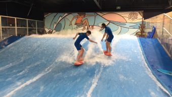 Trampoline, drift, surf : Gagnez des entrées pour «La Cage»