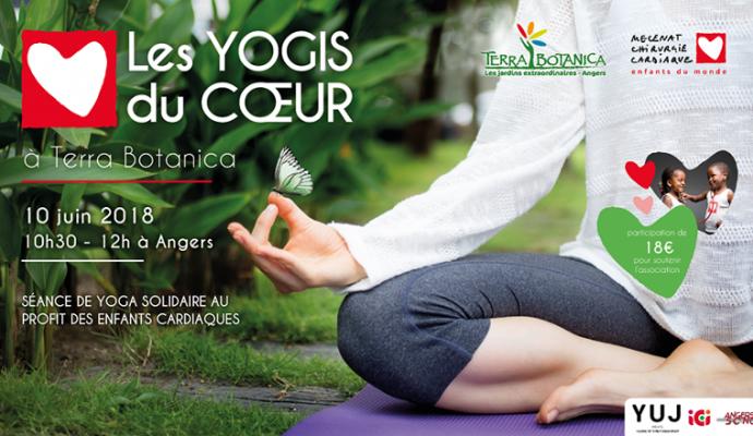 La 2ème édition des Yogis du cœur le 10 juin à Angers