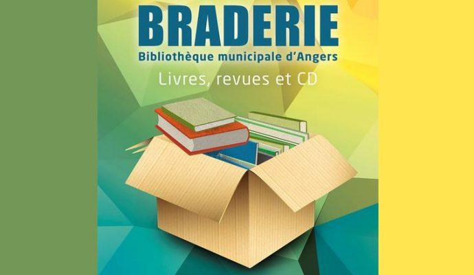 Braderie des bibliothèques d'Angers ce samedi