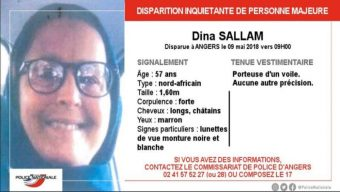 Disparition inquiétante d'une femme de 57 ans à Angers