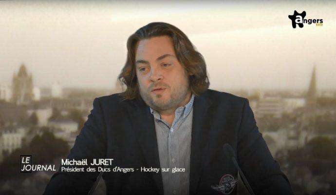 Michaël Juret se retire de la présidence des Ducs d'Angers