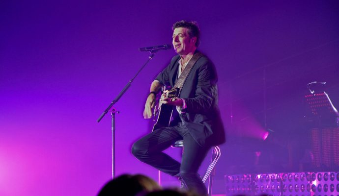 Patrick Bruel en concert à l'Arena Loire de Trélazé en juin 2019